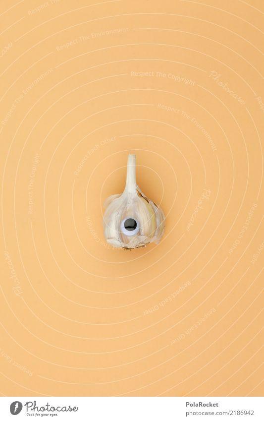 #A# Mr. Knobi Art Esthetic Garlic Clove of garlic Garlic bulb Garlic's land Eyes Sweet Cute Looking Colour photo Subdued colour Interior shot Studio shot