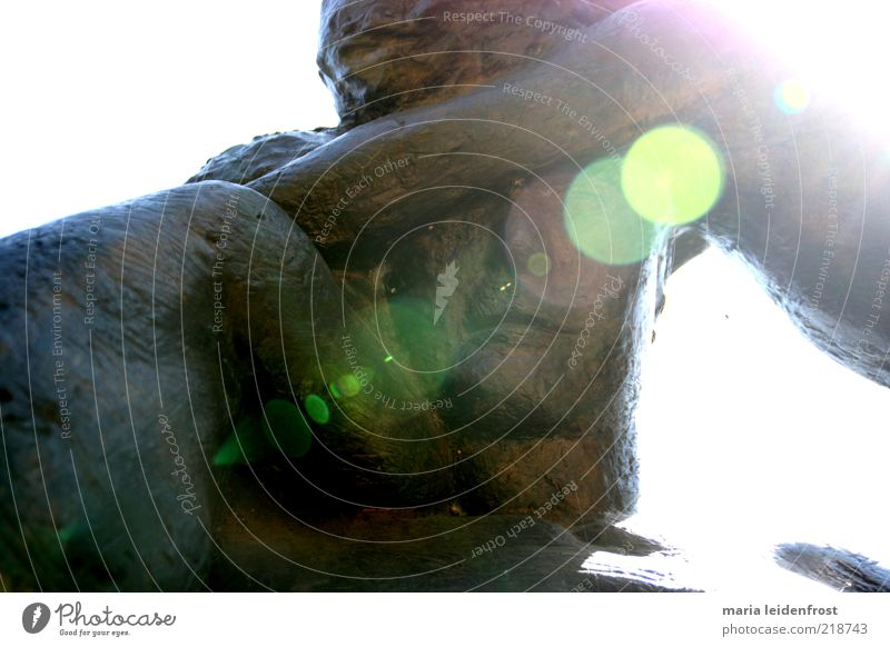 Man Adults Together Masculine Safety Protection Near Trust Touch Attachment Sculpture Safety (feeling of) Carrying Embrace Family & Relations Lens flare