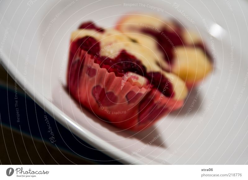 muffins for breakfast Food Candy Nutrition To have a coffee Crockery Plate Delicious Muffin Heart Colour photo Interior shot Close-up Shallow depth of field 2