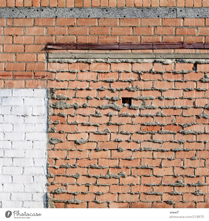 Old House (Residential Structure) Dark Wall (building) Stone Wall (barrier) Line Brown Dirty Background picture Concrete Facade Authentic Simple