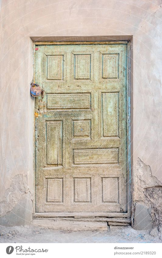 Old wooden door Vacation & Travel Colour Architecture Religion and faith Wood Building Art Tourism Design Decoration Church Culture Historic Asia Ancient