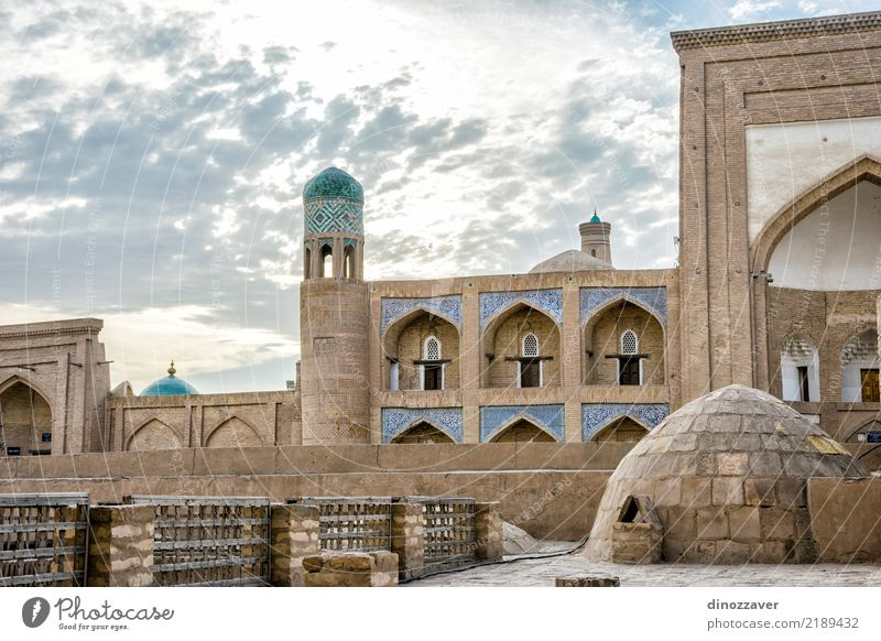 Khiva old town, Uzbekistan Old Blue Town House (Residential Structure) Architecture Religion and faith Building Decoration Asia Tradition Tile Sightseeing