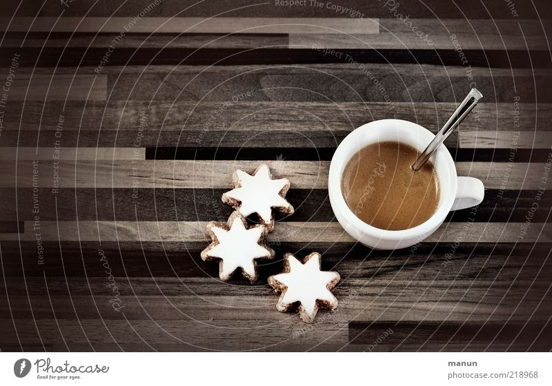 Advent coffee Food Dough Baked goods Cake Dessert Candy Star cinnamon biscuit Nutrition To have a coffee Beverage Hot drink Coffee Espresso Cup Lifestyle