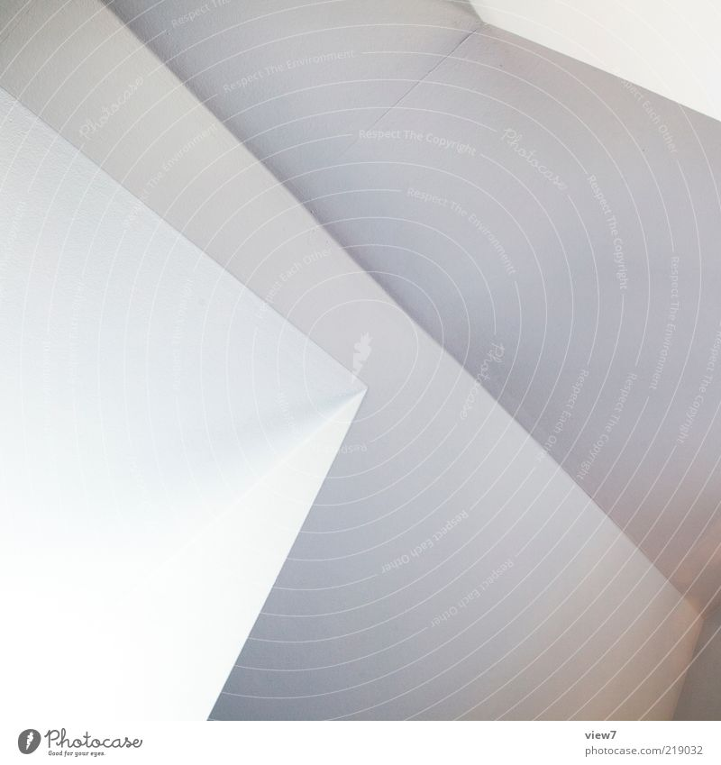 White Far-off places Wall (building) Above Stone Wall (barrier) Line Design Elegant Facade Fresh Perspective Modern Arrangement Esthetic Authentic