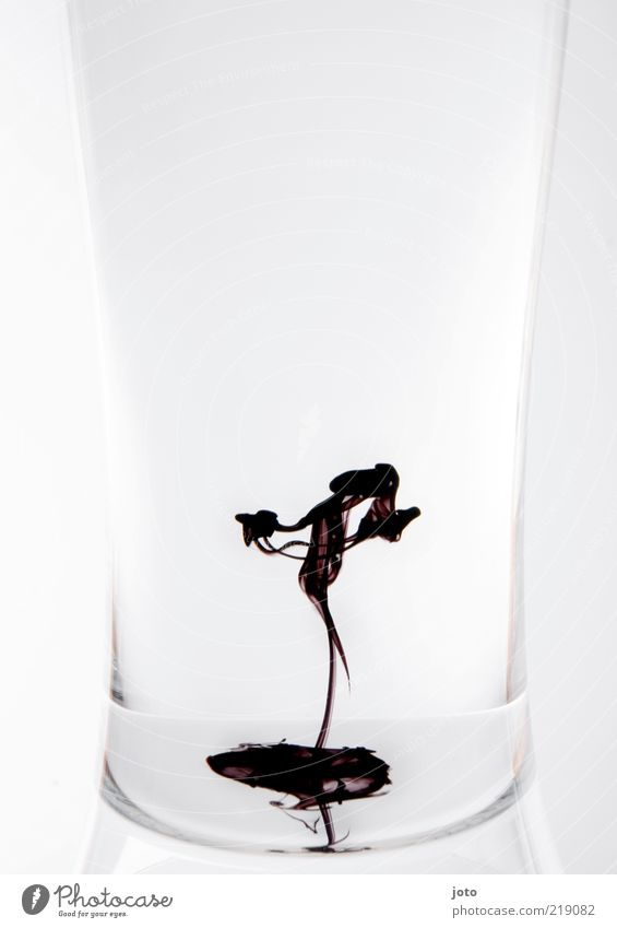 The dancer Elegant Style Design Art Dance Dancer Esthetic Uniqueness Modern Beautiful Creativity Ease Ink Weightlessness Liquid Water Fluid Graceful Glass