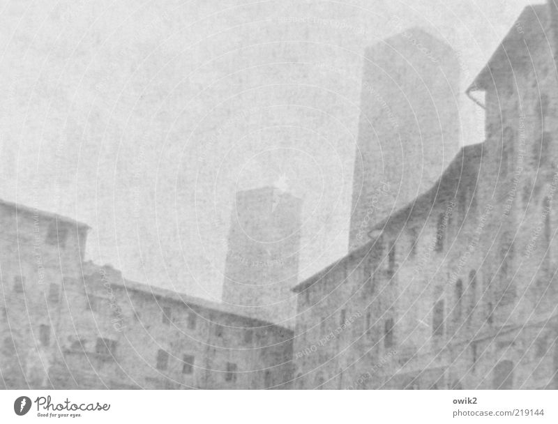 Long time ago Far-off places San Gimignano Southern Europe Small Town Downtown Old town Skyline Populated House (Residential Structure) Tower sex tower