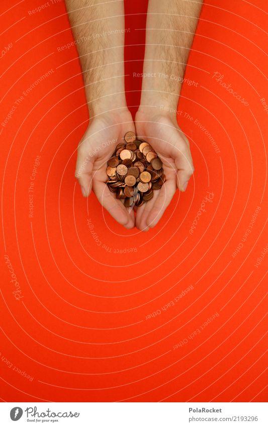 Hand Art Orange Esthetic Money Many Good Sustainability Ecological Give Coin Responsibility Legacy Cent Donation Monetary capital