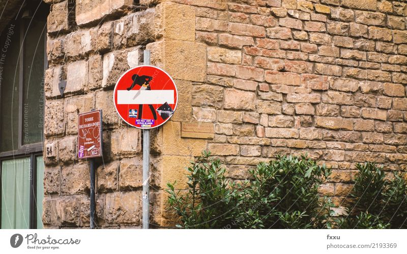 Street Art Transport Signs and labeling Dangerous Signage Threat Stop Risk Figure Warning label Street art Hold Road sign Warning sign