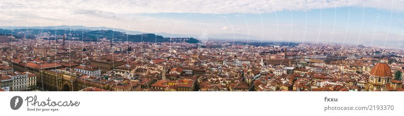 Panorama Florence Town House (Residential Structure) Church Building Italy Landscape Roof Tourism Architecture Tuscany