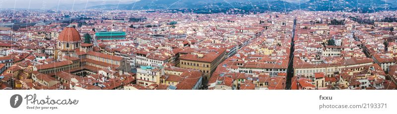 Town Landscape House (Residential Structure) Architecture Building Tourism Church Italy Roof Tuscany Florence