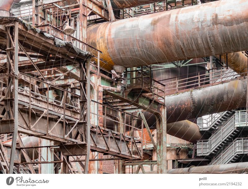 rusty industrial scenery Machinery Plant Metal Steel Rust Old Dirty Historic Brown Decline Industry corroded Equipment Joist Steel carrier conduit steel pipe