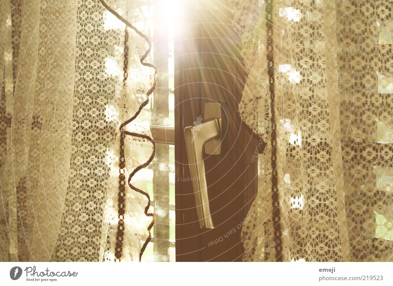 Sun Window Brown Closed Illuminate Door handle Curtain Lace Light Old fashioned Shutter Lever Window frame