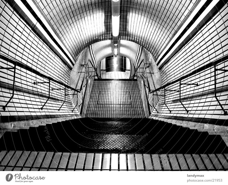 subway London Underground Architecture Ladder departure