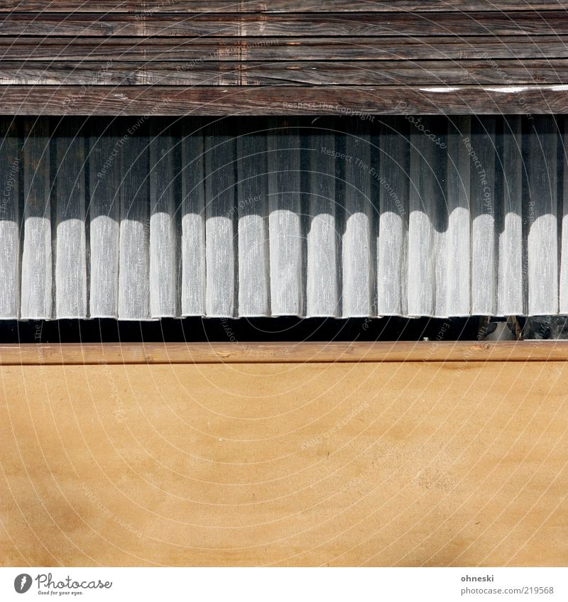 Old House (Residential Structure) Wall (building) Window Wall (barrier) Facade Curtain Section of image Venetian blinds Detached house Roller shutter