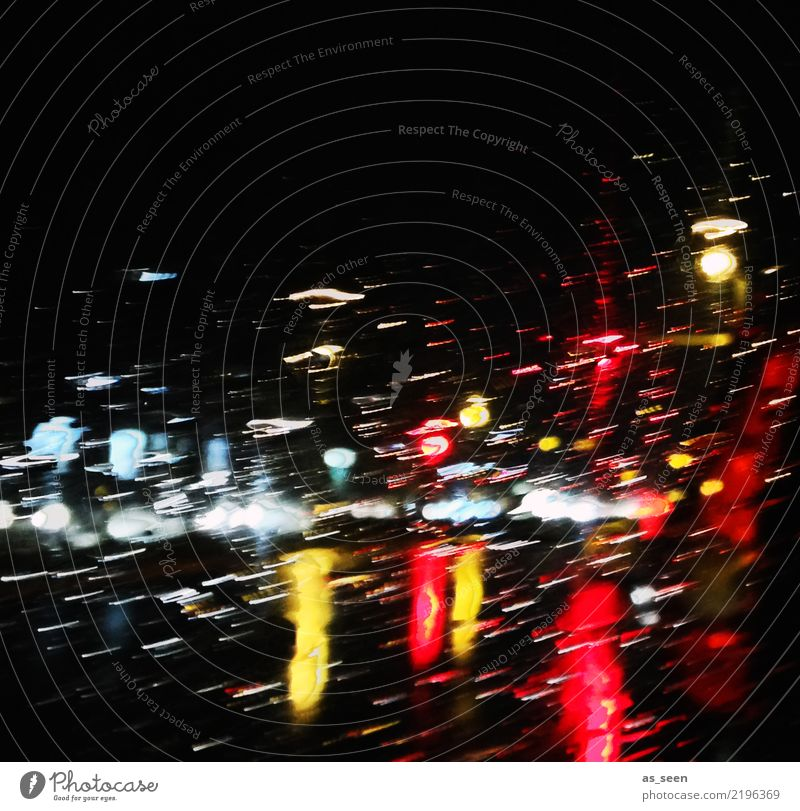rainlight Night life Party Restaurant Club Disco Going out Clubbing Christmas & Advent New Year's Eve Autumn Winter Transport Rush hour Road traffic Motoring