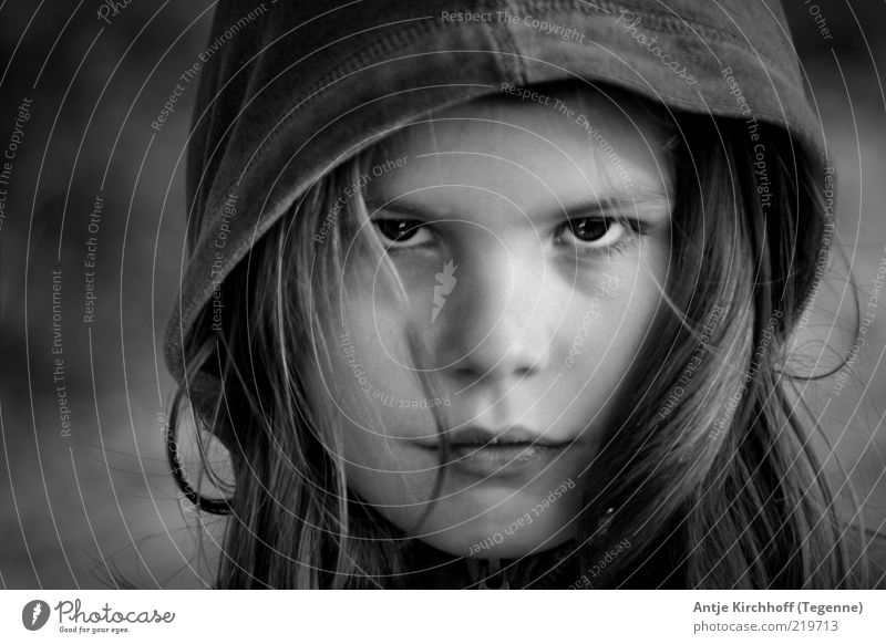 ... Human being Child Girl Hair and hairstyles Face Eyes Mouth Lips 1 8 - 13 years Infancy Sadness Threat Cool (slang) Strong Wild Anger Black White Emotions