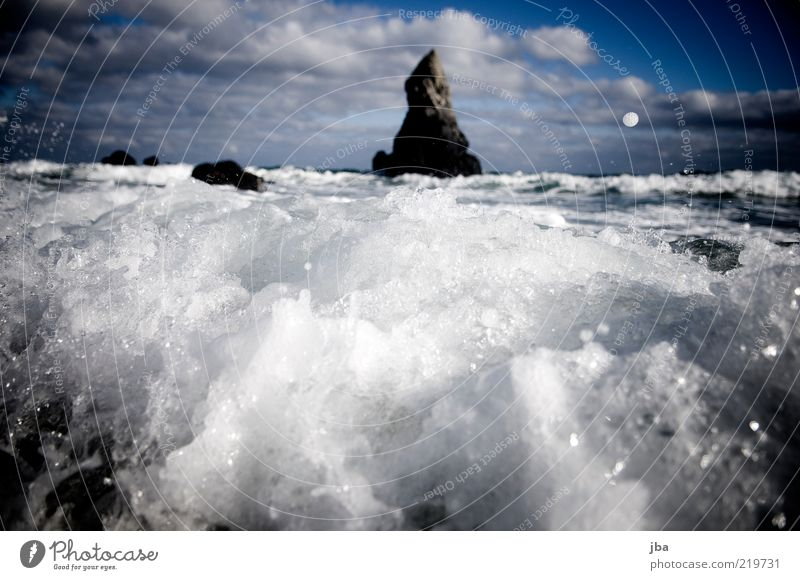 Nature Water Ocean Summer Beach Autumn Freedom Stone Air Coast Waves Drops of water Rock Trip Travel photography Gale
