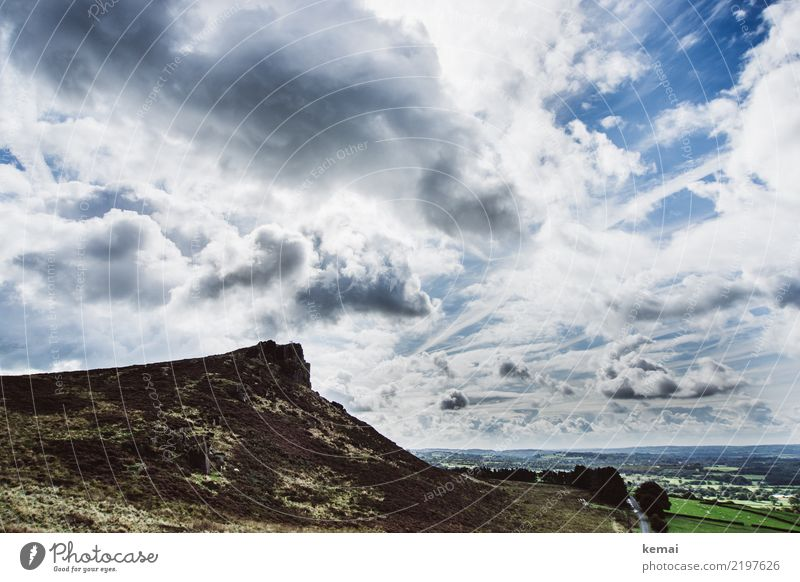 The Roaches: Cloud Show Harmonious Well-being Contentment Calm Leisure and hobbies Vacation & Travel Trip Adventure Far-off places Freedom Nature Landscape Sky