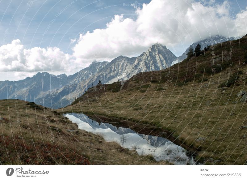 Autumn grey .......................................................... | Antholz [18] Clouds Summer Beautiful weather Hill Alps Mountain Antholzer valley