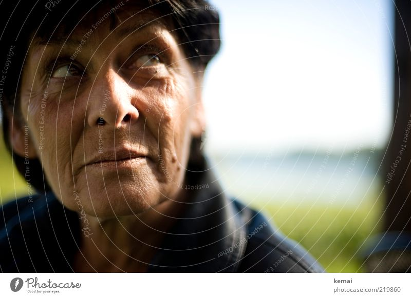 Human being Woman Face Adults Eyes Senior citizen Head Think Mouth Skin Nose Future Hope Desire Meditative Lips