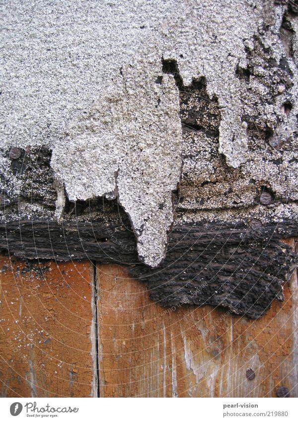 Old Black Wood Gray Brown Broken Transience Derelict Wooden board Chopping board Nail Art Work of art Tar paper