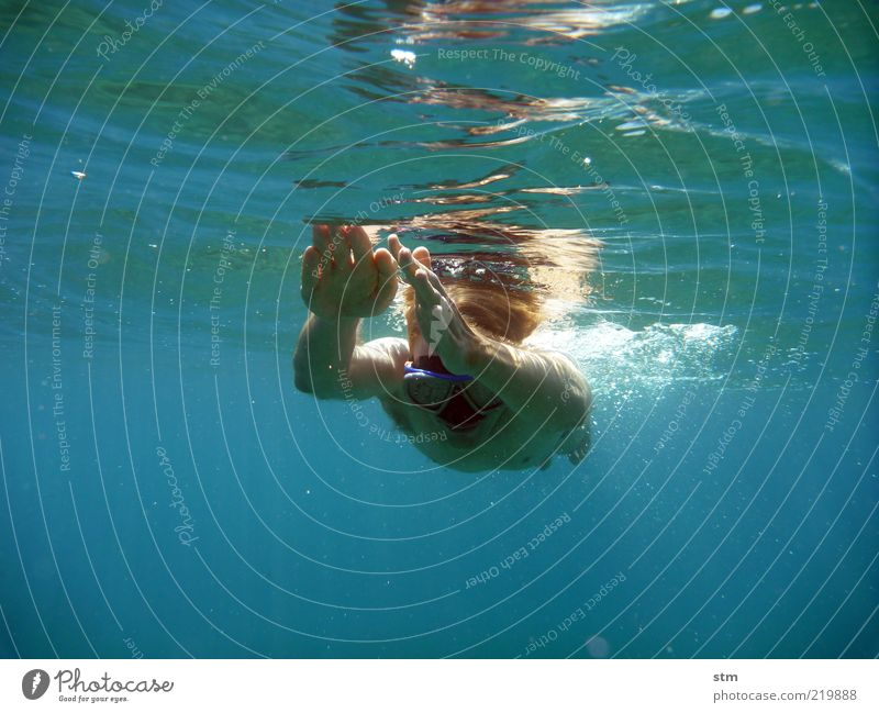 beyond the sea [16] Freedom Summer Summer vacation Sun Ocean Waves Sports Fitness Sports Training Aquatics Sportsperson Dive Human being Man Adults Skin