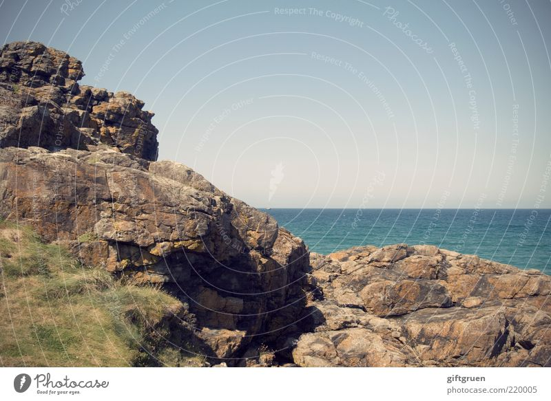 Nature Water Sky Ocean Blue Grass Stone Landscape Coast Environment Horizon Rock Europe Island Vantage point Travel photography