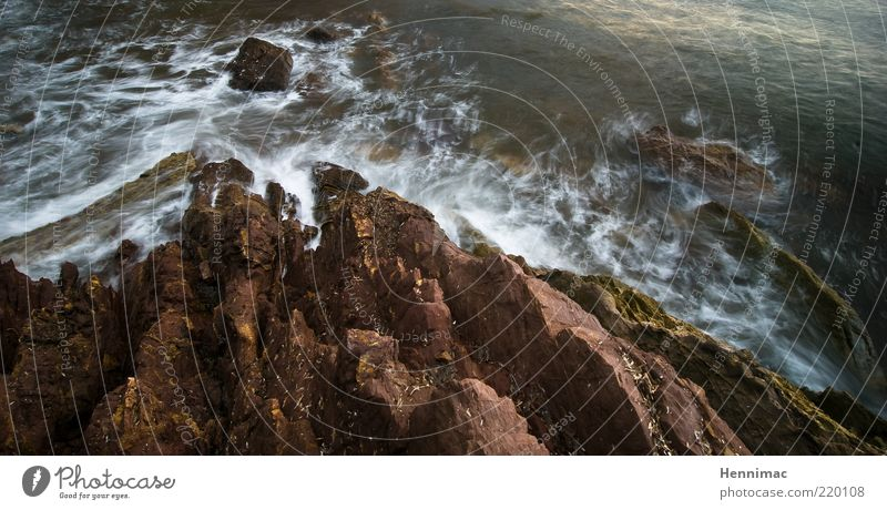 Nature Water Ocean Green Life Dark Movement Gray Stone Lake Landscape Brown Coast Waves Wind Rock