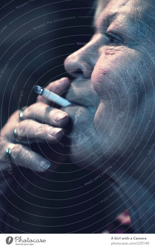 Smokers are the better people Human being Woman Adults Female senior Senior citizen Life Mouth 1 60 years and older Ring To enjoy Old Authentic Elegant