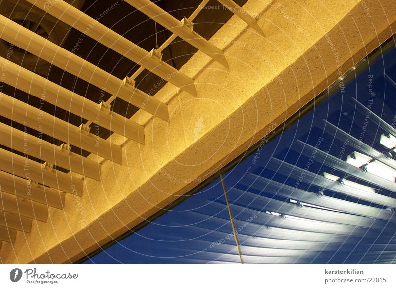 Blue Yellow Above Architecture Ceiling Concealed Dress up Covers (Construction) Venetian blinds Wall cladding