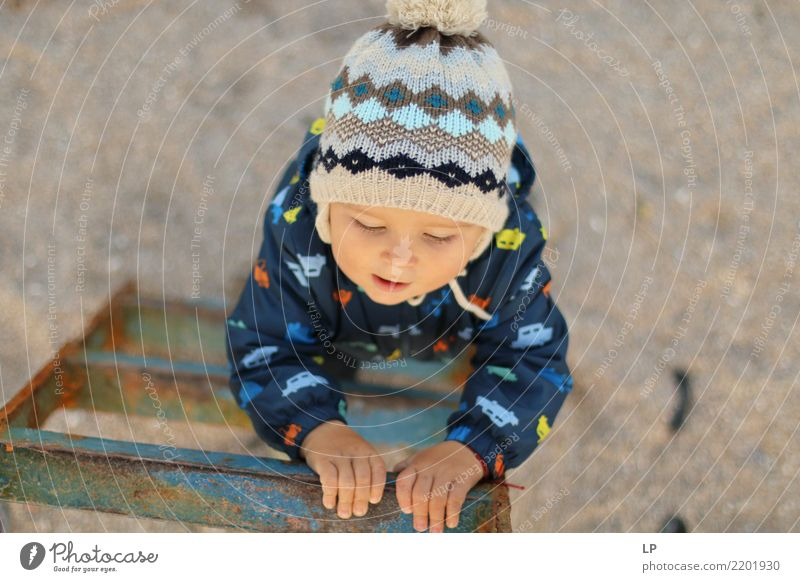Young climber Child Human being Joy Adults Life Background picture Senior citizen Emotions Family & Relations School Growth Infancy Success Beginning Adventure