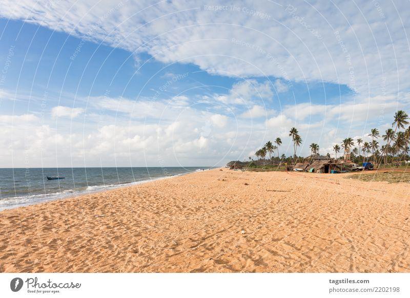 Toduwala Beach, Sri Lanka, Asia Thoduwawa Toduwawa Vacation & Travel Traveling Idyll Freedom liberty Card Tourism Sun Sunbeam Summer Paradise Paradisical Nature