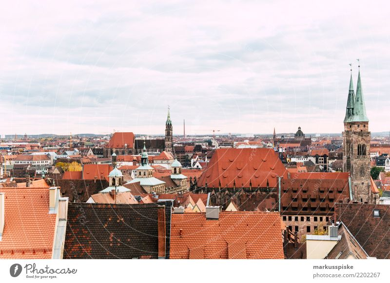 View from the Kaiserburg Nuremberg Lifestyle Luxury Vacation & Travel Tourism Trip Far-off places Freedom Sightseeing City trip Education Destination