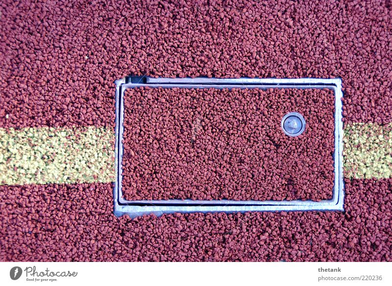 Line Background picture Closed Floor covering Mysterious Sports Frame Structures and shapes Section of image Rubber Hiding place Cap Hidden Opening Hatch