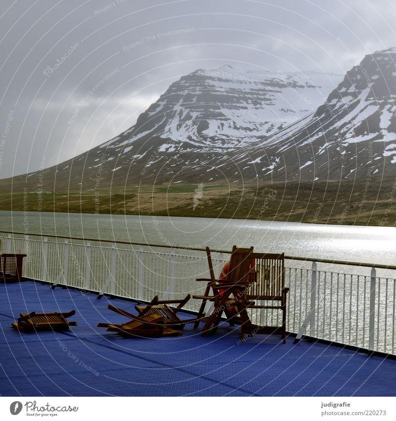 Sky Nature Water Ocean Clouds Dark Mountain Landscape Environment Coast Moody Rock Climate Broken Wild Chair