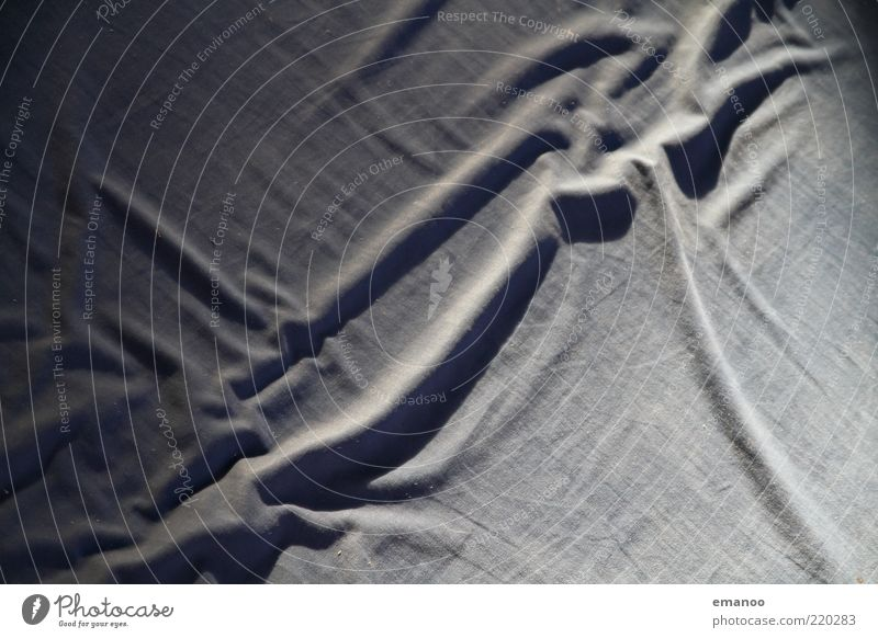 Line Bed Soft Wrinkles Abstract Blanket Surface Textiles Macro (Extreme close-up) Sheet Cotton Cloth Light Undulating Mattress Floor mat