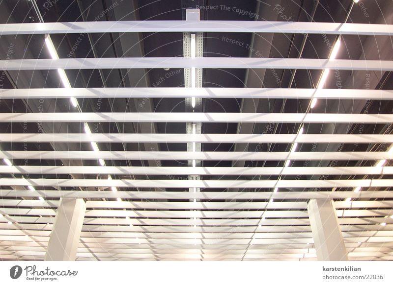 Architecture Mask Column Neon light Ceiling Venetian blinds Wall cladding