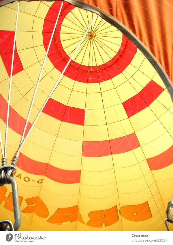 Sky Rope Perspective Aviation Wrinkles Hot Air Balloon Sheath Gas burner Balloon flight