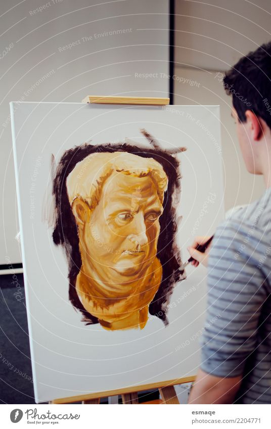 Painting Education School Academic studies Human being Art Artist Painter Exhibition Painting and drawing (object) Draw Painting (action, work) Creativity Study