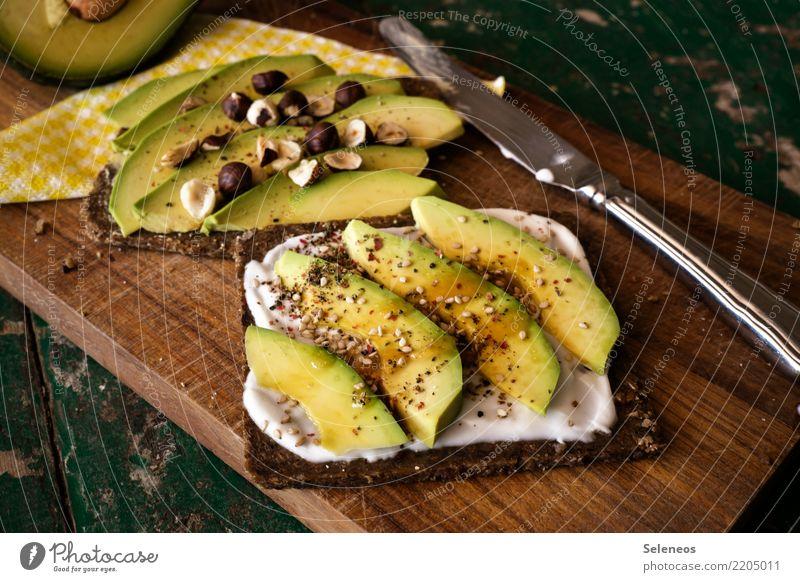 Eating Healthy Food Nutrition Fresh Delicious Vegetable Organic produce Bread Dinner Knives Diet Vegetarian diet Hazelnut Yoghurt
