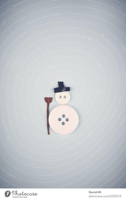 SNOWMAN Christmas & Advent Human being Infancy Life Art Artist Work of art Environment Winter Fog Ice Frost Snow Hat Observe Handicraft Home-made Cute