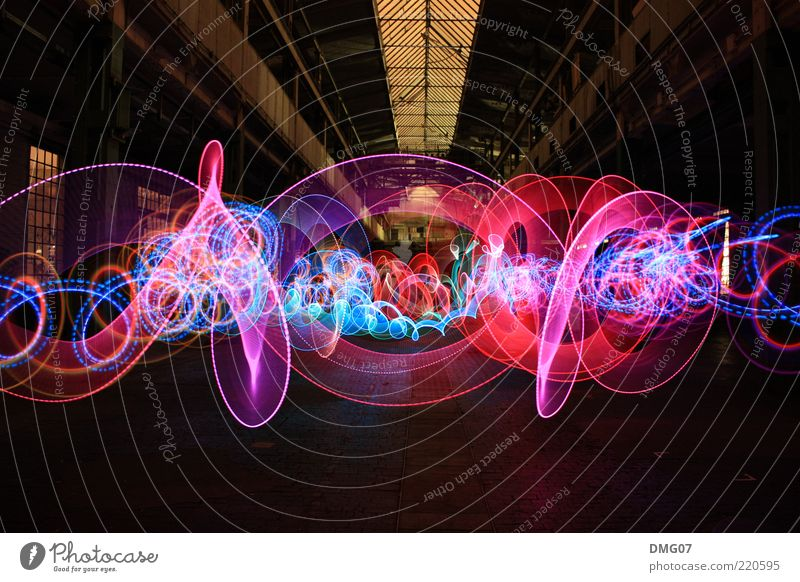 Art Feasts & Celebrations Design Illuminate Disco Long exposure Club Abstract Event Visual spectacle Night Entertainment Light Night life Going out Tracer path