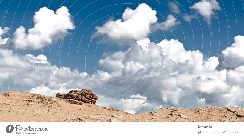 Sky Summer Vacation & Travel Clouds Freedom Mountain Landscape Moody Rock Hill Greece Sandstone Clouds in the sky Corfu Cloud pattern Cloud formation