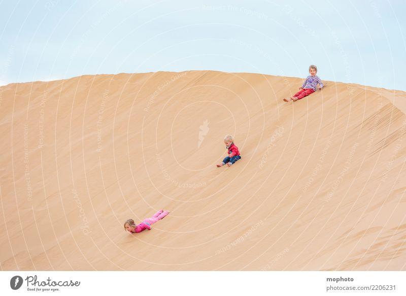 Sandbox Desert #3 Leisure and hobbies Playing Children's game Vacation & Travel Summer Summer vacation Beach Human being Masculine Feminine Girl Boy (child)