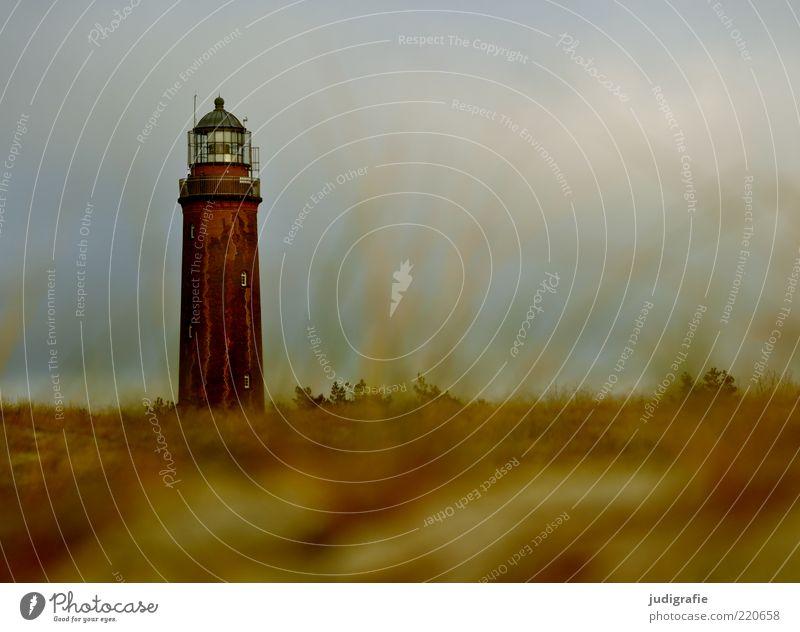 Nature Sky Ocean Plant Grass Landscape Moody Coast Architecture Environment Large Natural Historic Landmark Lighthouse Baltic Sea