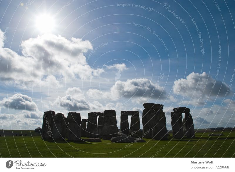 hip pile of stones Nature Landscape Sunlight Beautiful weather Stonehenge England Great Britain Europe Deserted Tourist Attraction Culture Mystic cult site