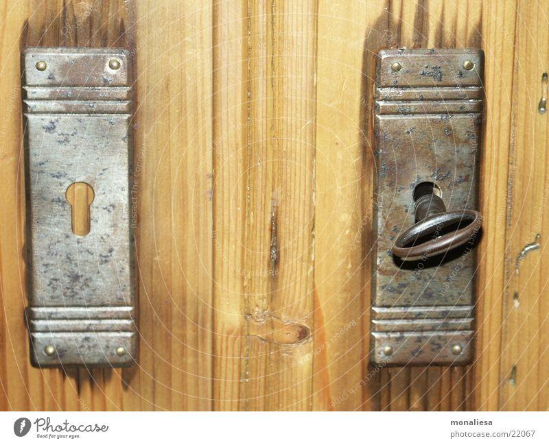 Wood Living or residing Castle Rust Key Converse Wood grain Lock Door lock