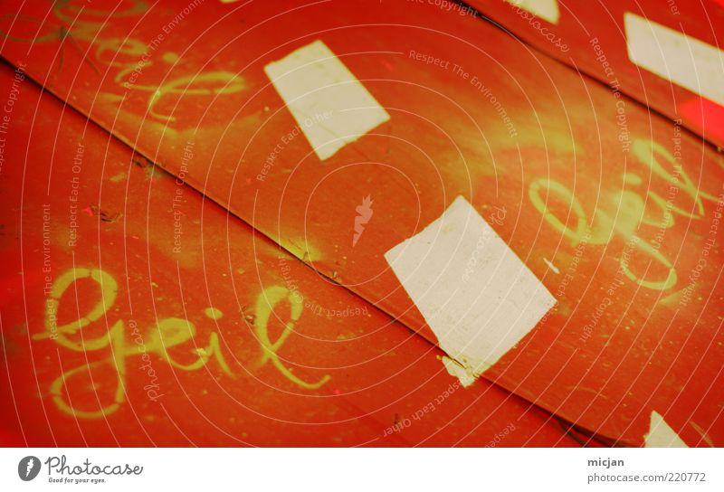 Red Joy Yellow Graffiti Happy Dye Metal Art Orange Table Characters Perspective Cool (slang) Good Fantastic Box