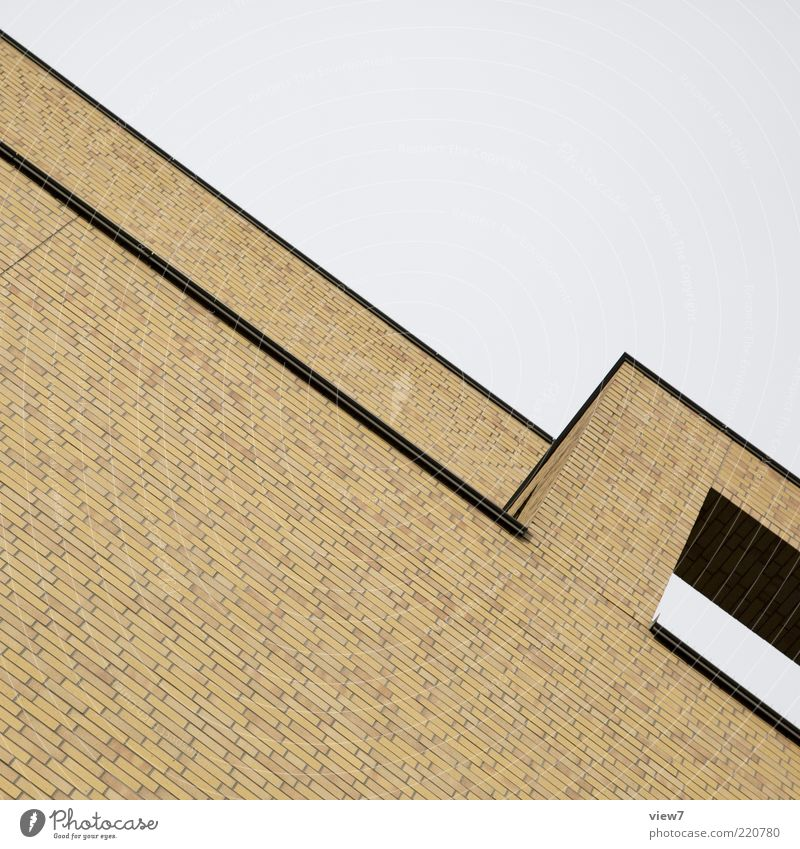 House (Residential Structure) Wall (building) Above Stone Wall (barrier) Architecture Elegant Facade Perspective Modern Arrangement Esthetic Roof Simple Pure