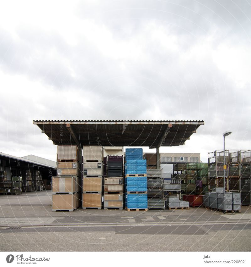 Storage Work and employment Workplace Industry Trade Logistics Company Sky Industrial plant Factory Manmade structures Building Architecture Gloomy Factory yard